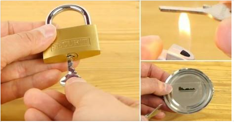 Cómo hacer una copia de llave casera en 5 minutos