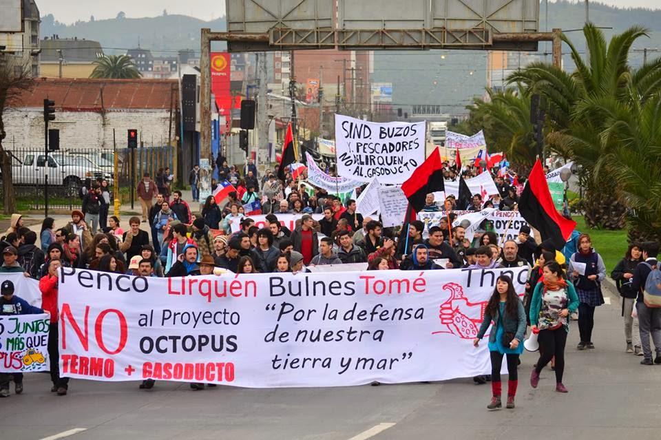 Aprueban proyecto Octopus pese a dura resistencia de la ciudadanía del Bío Bío