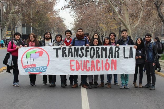 """LISTA C """"Unid@s Podemos"""" disputará segunda vuelta en elecciones FEUSACH"""