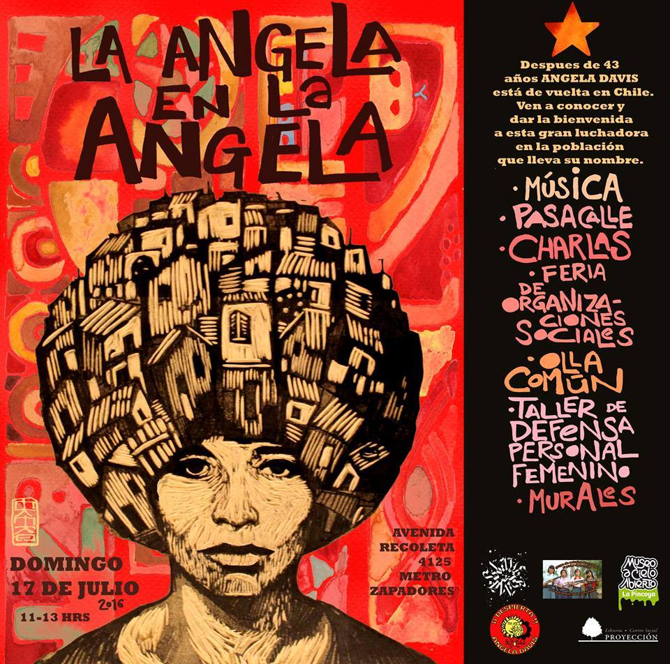 Los detalles del regreso a Chile de la líder feminista y anti-racista Angela Davis