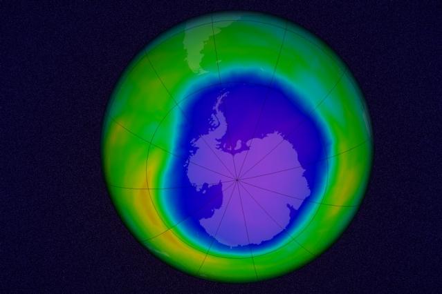 Científicos observan señales de recuperación del agujero de ozono en la Antártida