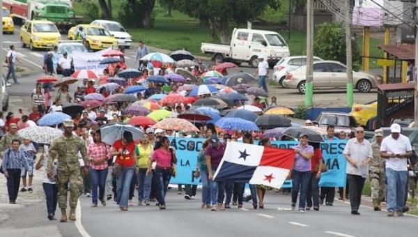 Panamá: Una semana de masiva huelga docente