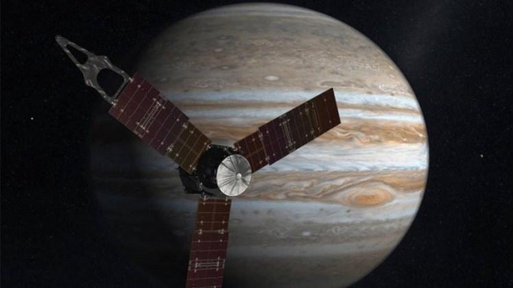 Acontecimiento astronómico: Juno llegó con éxito a la órbita de Júpiter