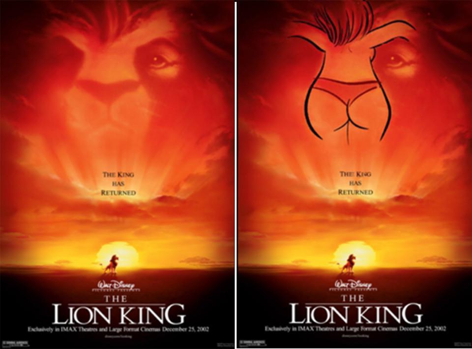 12 fotos que dejan al descubierto el lado más oscuro y perverso de las películas de Disney