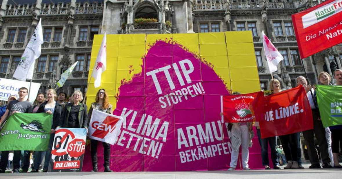 Francia y Alemania se echan atrás en las negociaciones del TTIP