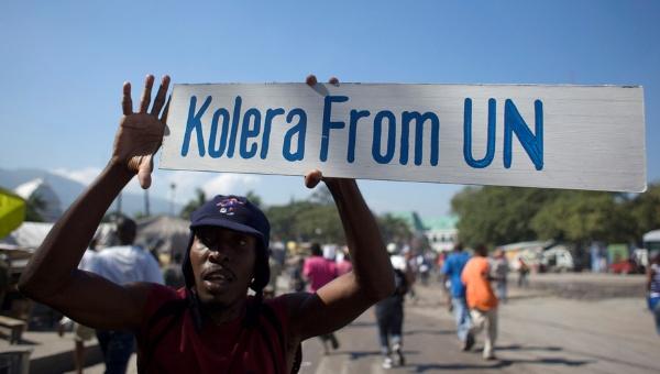 Naciones Unidas admite que cascos azules llevaron brote de cólera a Haití