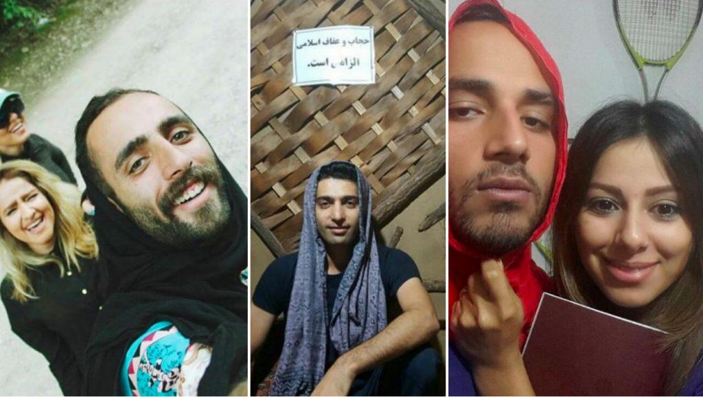 Irán: Hombres con velo para protestar y solidarizarse con mujeres