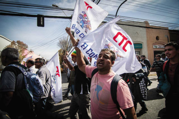 """Trabajadores del cobre y suspensión de funciones en El Salvador: """"Es una clara maniobra antisindical"""""""