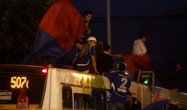 Trabajadores del Transantiago exigen fin de los banderazos