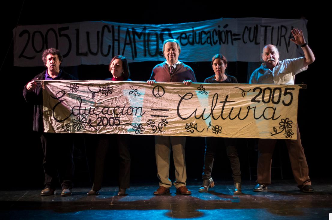 """Vuelve obra """"Okupación"""": El debate sobre la educación pública bajo la mirada de los profesores"""