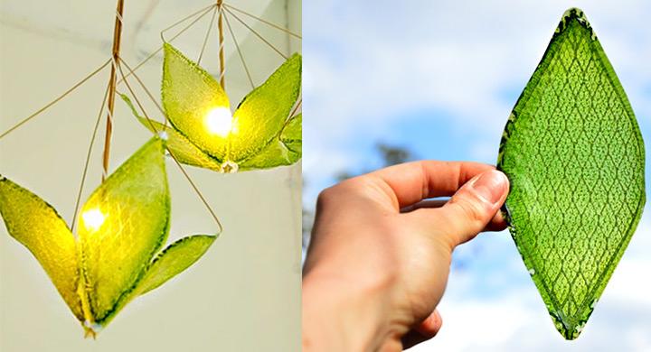 Crean una hoja sintética capaz de producir oxígeno a partir de la humedad y la luz