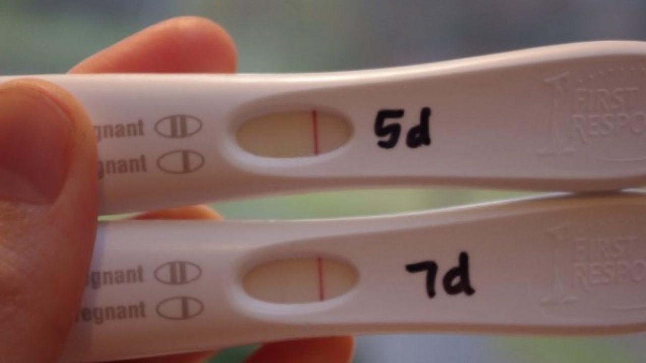 Falso positivo en prueba de embarazo orina