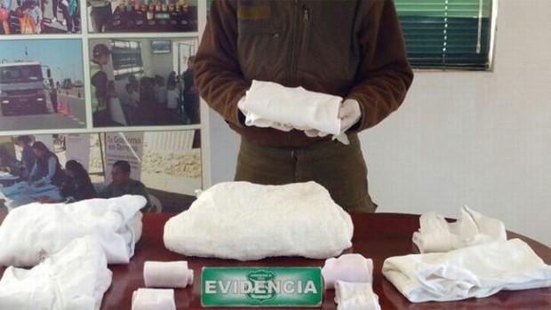 Narco boliviano es atrapado en Iquique por traer la «ropa dura»