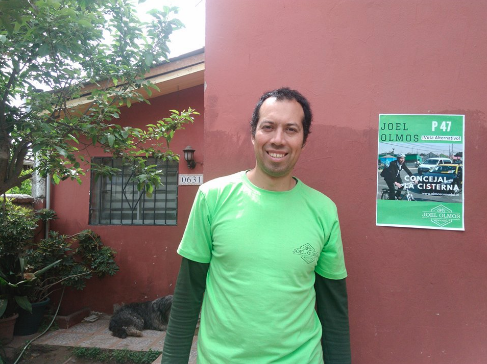 Joel Olmos apuesta por abrir las ventanas del concejo municipal de La Cisterna
