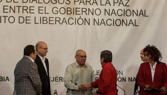 Gobierno colombiano y ELN harán en Quito anuncio sobre negociaciones de paz