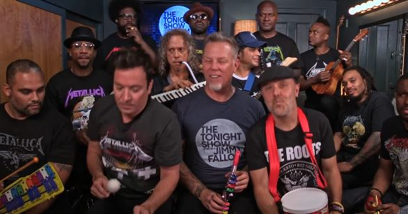 Escucha como suena un clásico de Metallica tocado con instrumentos de juguete (VIDEO)