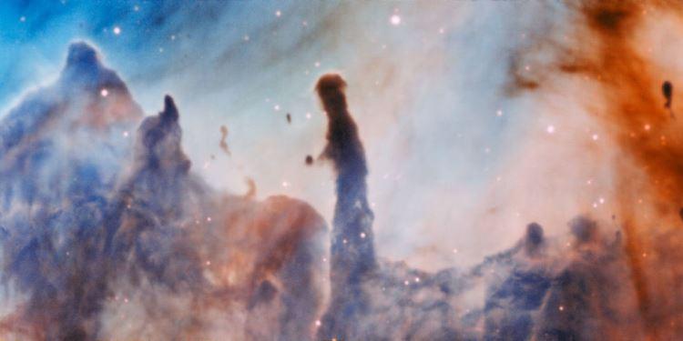Conoce los «Pilares de la Destrucción» de la nebulosa de Carina, captados en el Observatorio Paranal