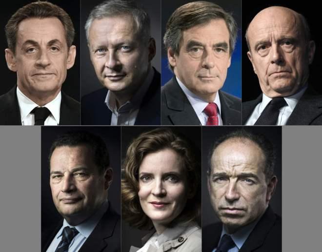 primarias derecha francia