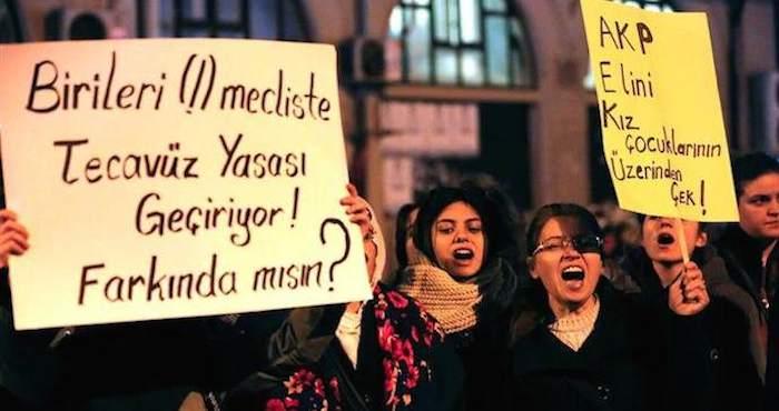 Turquía: Retiran proyecto de ley que suspendía la cárcel a violadores de menores que se casaran con sus víctimas