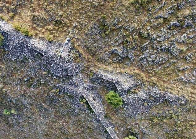 Descubren una antigua ciudad perdida en una colina en Grecia
