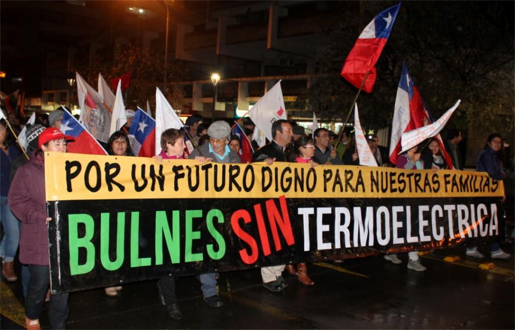 Opositores a termoeléctrica «El Campesino» llevaron sus reclamos al Ministro de Energía