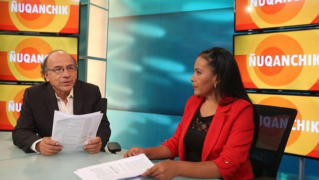 Perú estrenó su primer noticiero en quechua en la televisión pública