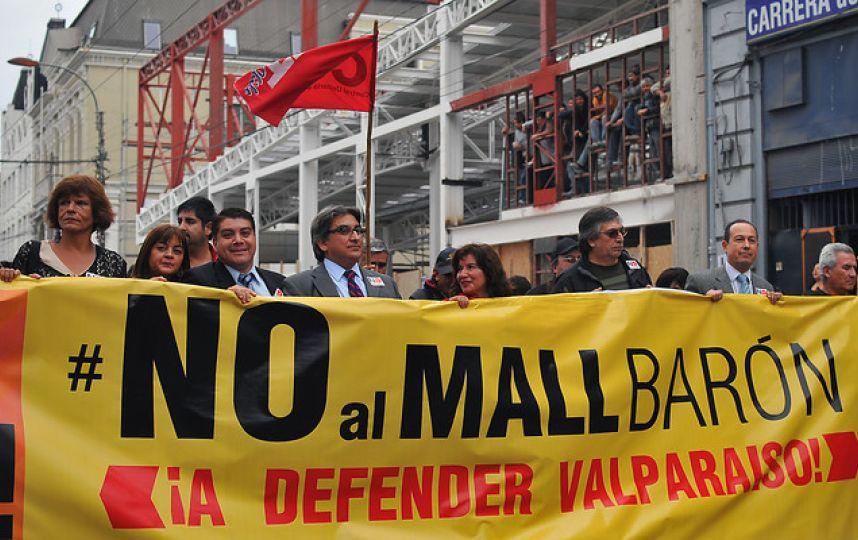 Valparaíso: Cuestionan supuesta luz verde de la ONU a construcción de Mall Barón