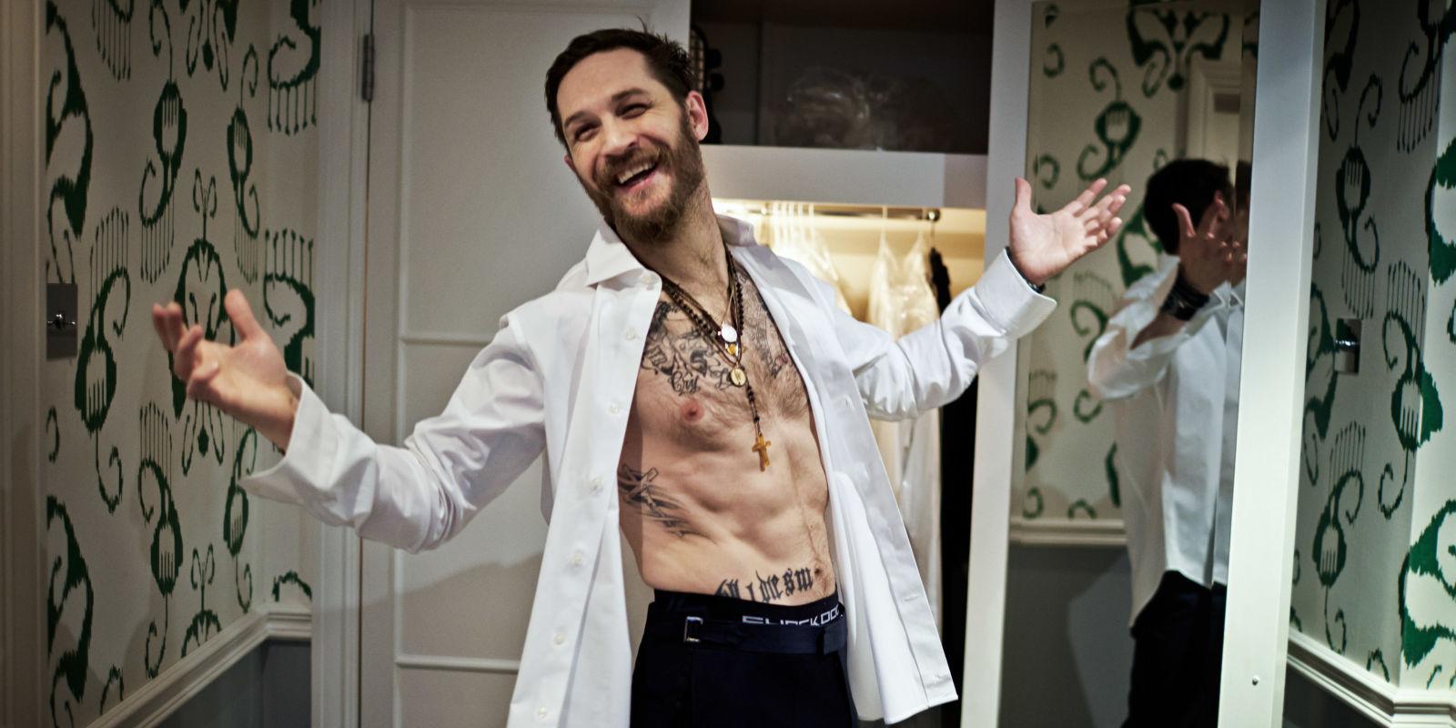 Tom Hardy perdió una apuesta con Leonardo DiCaprio y ahora tendrá que tatuarse su nombre