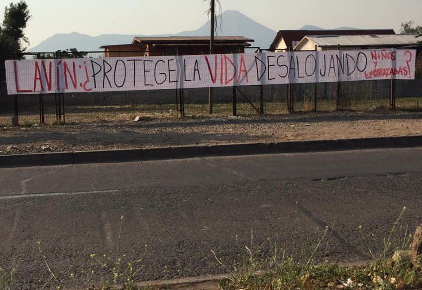 Campamento 4 de Septiembre de Las Condes consigue poner en suspenso el desalojo