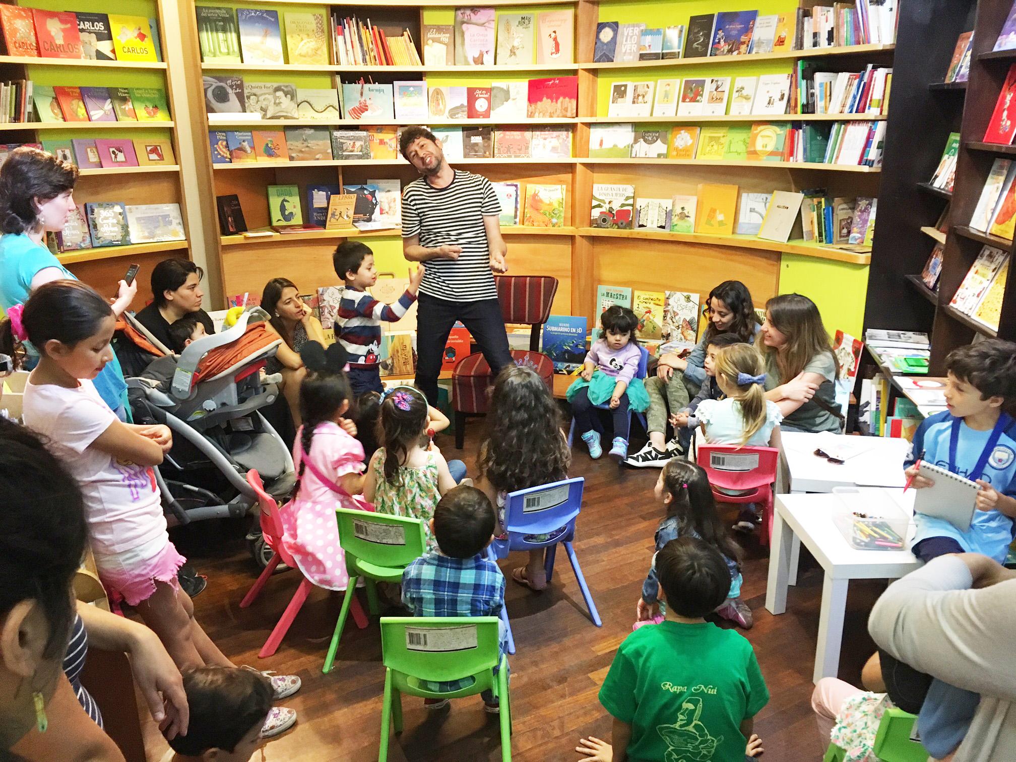 Continúan los sábados de Cuentacuentos en La Librería del GAM