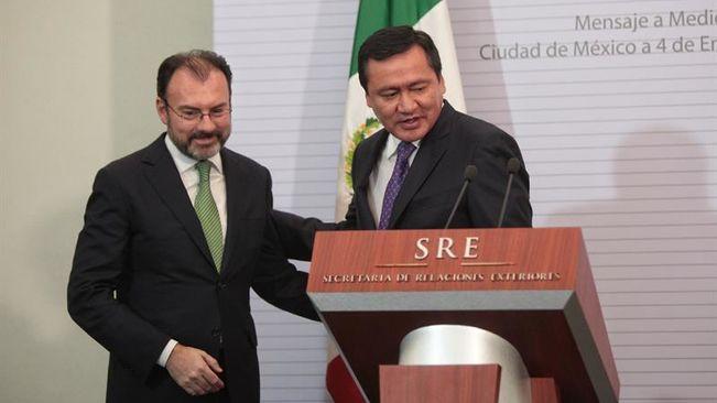 México: Peña Nieto repone al ministro que facilitó la visita de Trump