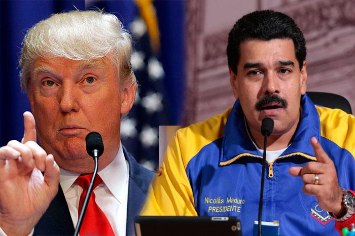 Maduro defiende a Trump: «Es víctima de una brutal campaña de odio»