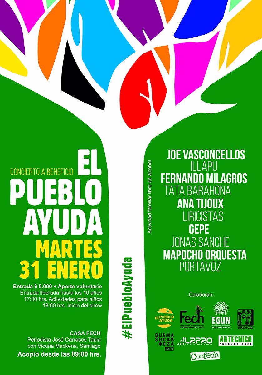 Concierto a beneficio reúne a Joe Vasconcellos, Anita Tijoux, Portavoz y más