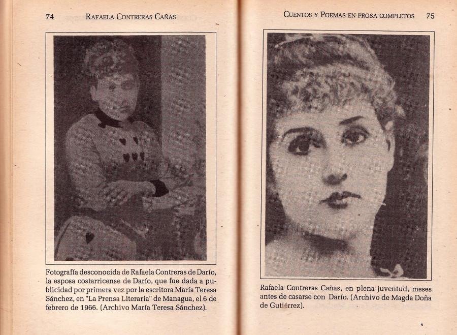 Museo Violeta Parra presenta libro «Nueve cuentos» de Rafaela Contreras de Darío, primera escritora modernista centroamericana