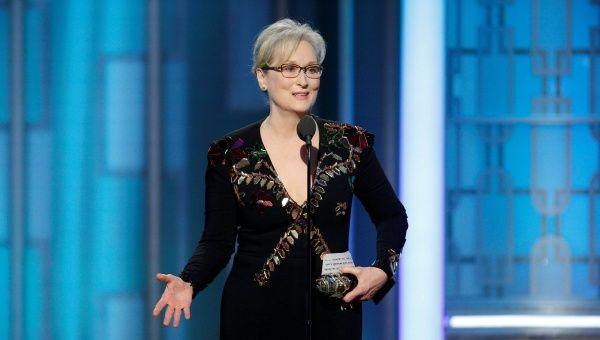 EEUU: Trump critica a Meryl Streep por su discurso en ceremonia de los Globos de Oro