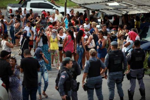 Brasil: Motín en cárcel deja 56 presos fallecidos y más de 180 fugados