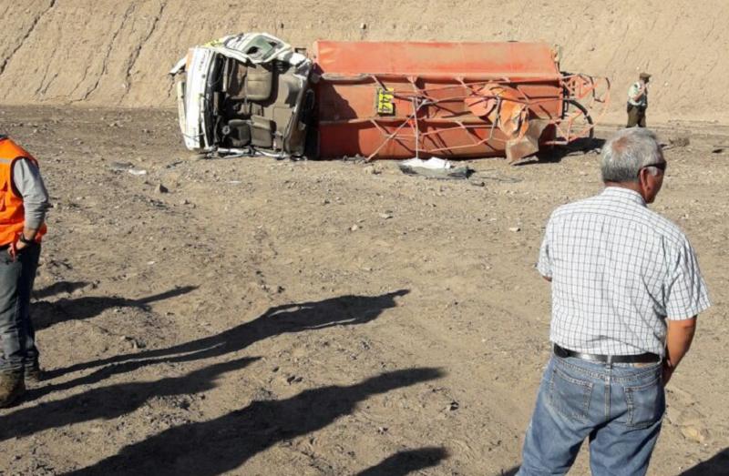 Trabajador de Mineral Drilling muere en accidente carretero