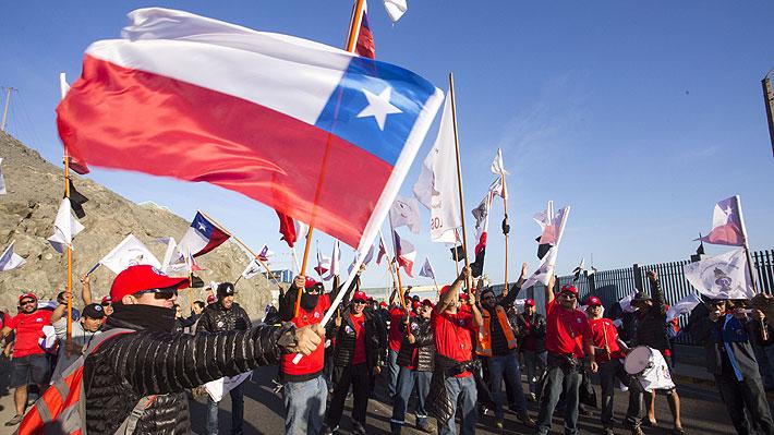 Trabajadores de Minera Escondida en huelga desmienten reanudación del diálogo con empresa