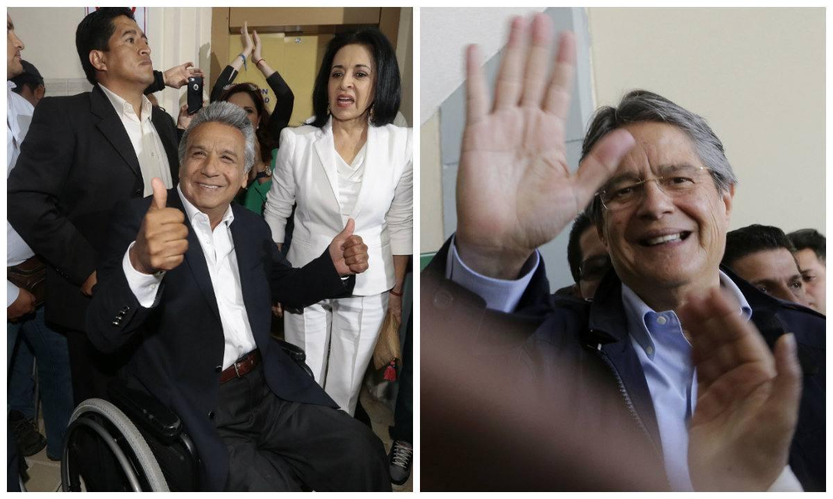Horas decisivas en Ecuador: Moreno y Lasso cerraron sus campañas y el continente se muestra expectante