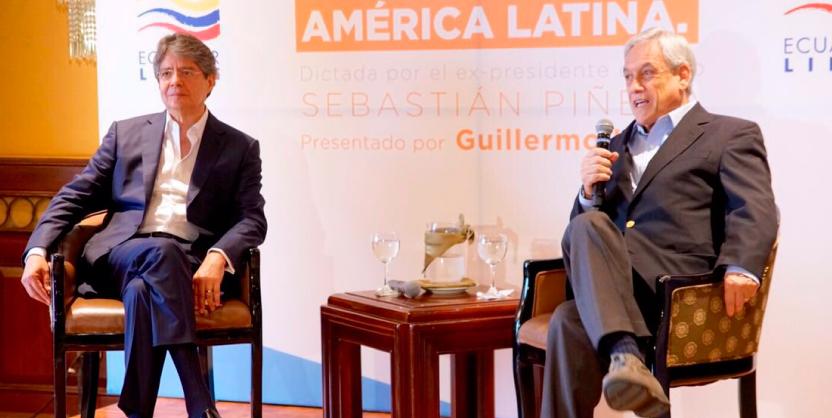 El dinero y las finanzas acosan a la política: Lasso en Ecuador, Piñera en Chile