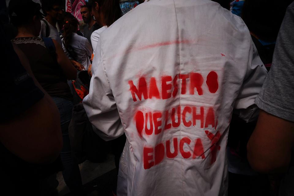 El conflicto docente se agudiza en Argentina y desnuda la peor cara del gobierno de Macri