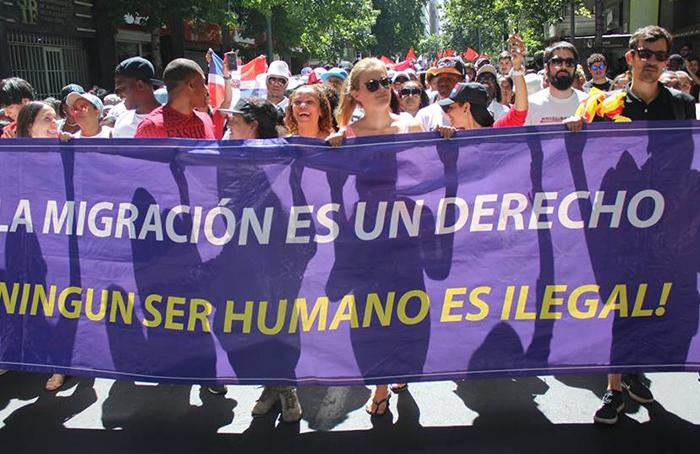 Presentan recurso de amparo en favor del presidente de la Coordinadora Nacional de Inmigrantes en Chile