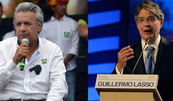 """Lasso y Moreno siguen con la polémica en Ecuador: """"Que pierda con dignidad"""""""