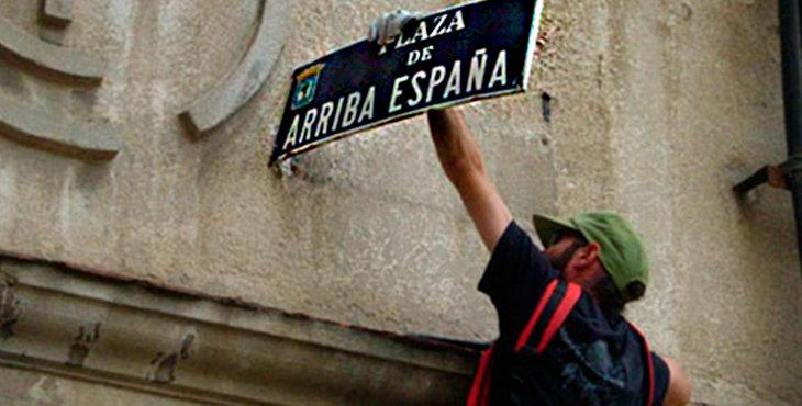 52 calles o plazas de Madrid perderán su nombre vinculado a la dictadura