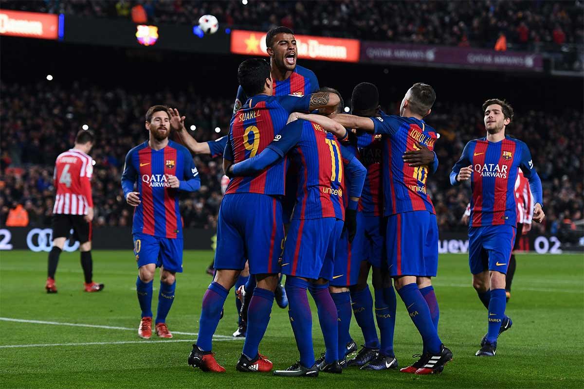 A pocos días del clásico español, el Barcelona se burla del Real Madrid