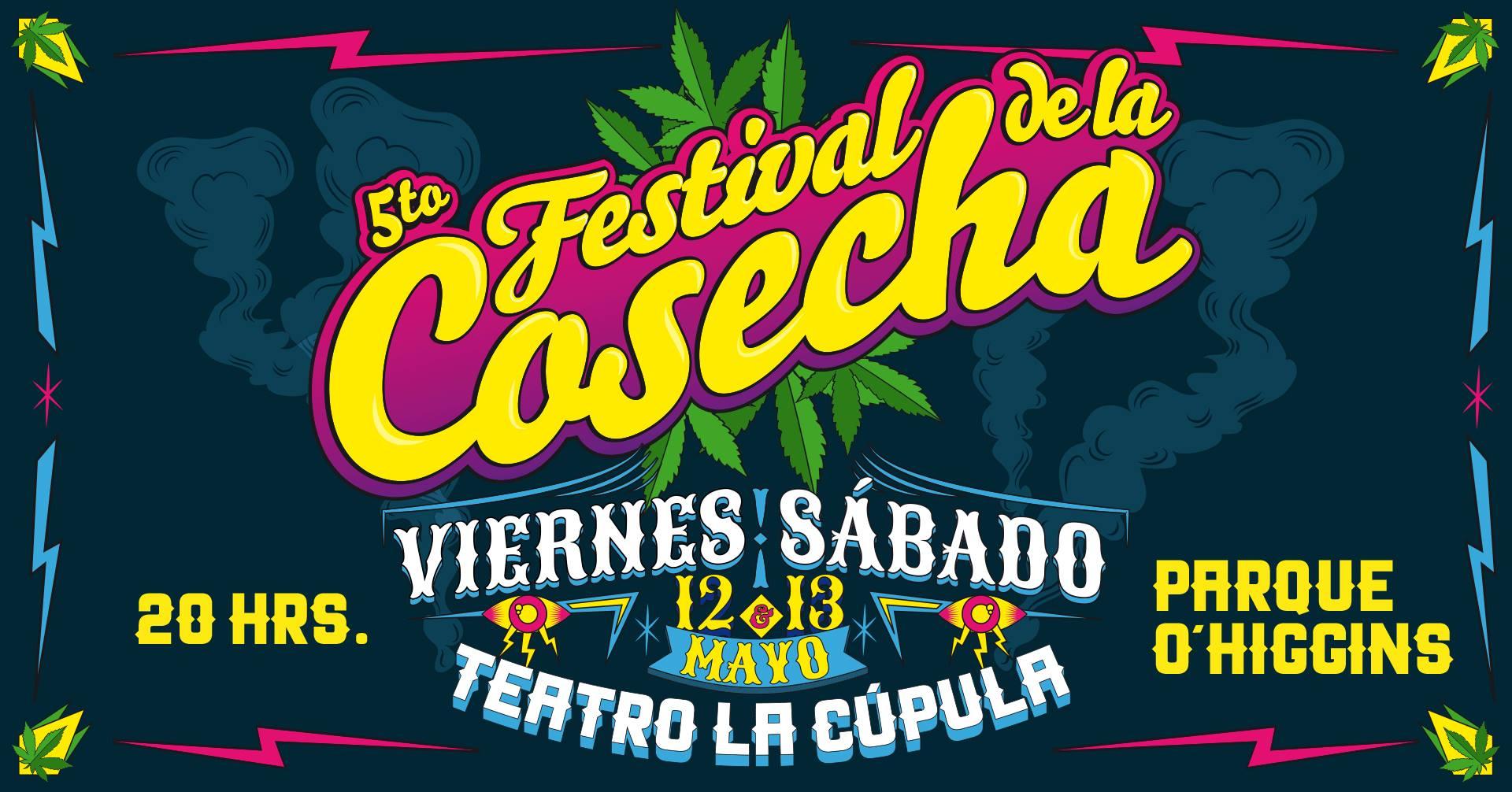 5to Festival de La Cosecha / 12 y 13 de mayo / Teatro La Cúpula del Parque O'Higgins