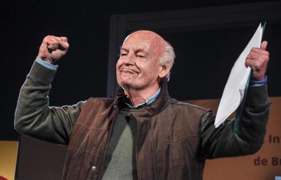 A dos años de la muerte de Eduardo Galeano, 10 frases para recordar al escritor uruguayo