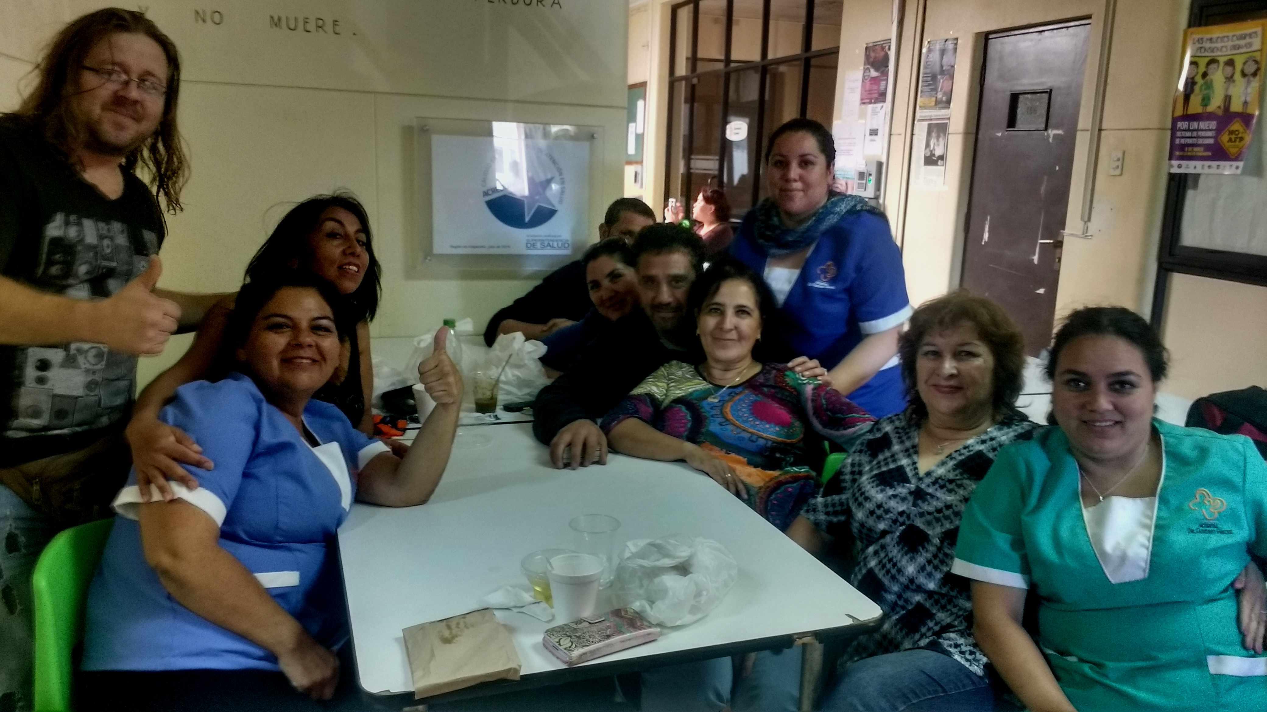 Viña del Mar: Trabajadores de la salud en pie de guerra