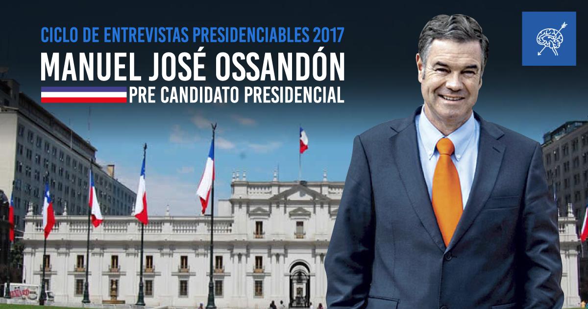 Presidenciables 2017: Manuel José Ossandón abre ciclo de entrevistas en vivo en El Ciudadano