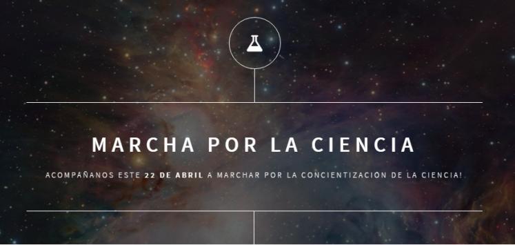Por Chile y el mundo, tod@s a la 'Marcha por la Ciencia' este sábado
